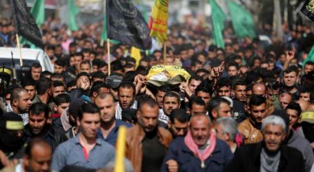 33 Syahid 4.279 Terluka Sejak Aksi Kembali ke Palestina