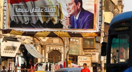 KPU Mesir Umumkan : Al-Sisi Menang 97 Persen