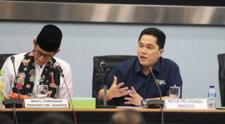 Erick Thohir Harap Jakarta Jadi Etalase Suksesnya Asian Games 2018