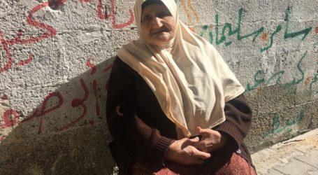 Nenek Palestina 82 Tahun, 70 Tahun Terusir dari Kampung Halaman