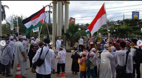 Ponpes  Al-Fatah Samarinda Adakan Aksi Dukung GRM