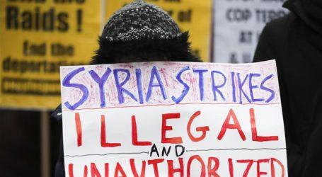 Sekitar 2.000 Warga AS  Protes Serangan Terhadap Suriah
