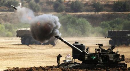 Tembakan Altileri Israel Melukai Empat Warga Palestina