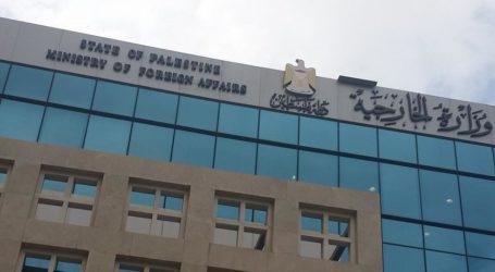 Kemenlu Palestina Kecam Pemblokiran Pernyataan UE