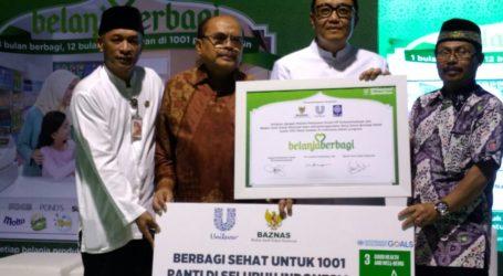 Unilever-BAZNAS Kampanye Donasi Untuk 1001 Panti Asuhan