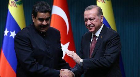 Erdogan Beri Selamat kepada Maduro Atas Kemenangan Pemilu