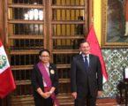 Menlu RI Terima Penghargaan Tertinggi Bagi Warga Sipil dari Pemerintah Peru