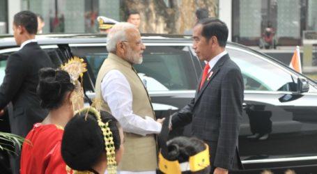 Presiden Jokowi Terima Kunjungan PM India di Jakarta