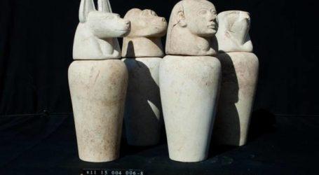 Mesir Tunggu Pemulangan Artefak Kuno yang Disita di Italia