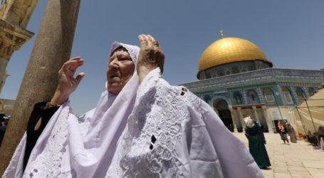 Hari Pertama Ramadhan,  Ribuan Muslim Padati Al-Aqsha