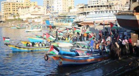Gaza Siapkan Armada Kapal Kecil Lawan Blokade Israel