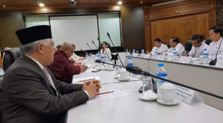 Din Syamsuddin Bertemu Aung San Su Ki di Myanmar