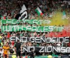 Fans Celtic FC Kibarkan Bendera Palestina Saat Pertandingan Final