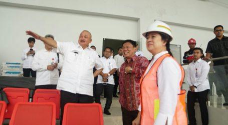 Menko Puan Maharani Tinjau Venue AG di Palembang
