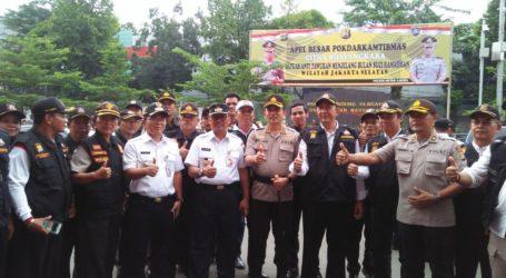 Pokdarkamtibmas Jakarta Selatan Bersatu Jaga Keamanan, Ketertiban Selama Ramadhan
