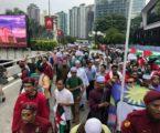 Ribuan Warga Malaysia Protes Pembunuhan Warga Palestina dan Pemindahan Kedubes AS