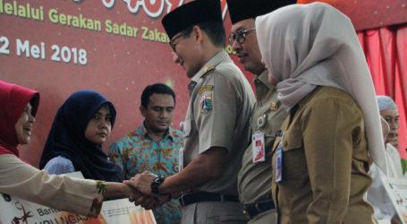 Pemkot Jaksel Berikan Bantuan kepada 829 Mustahik
