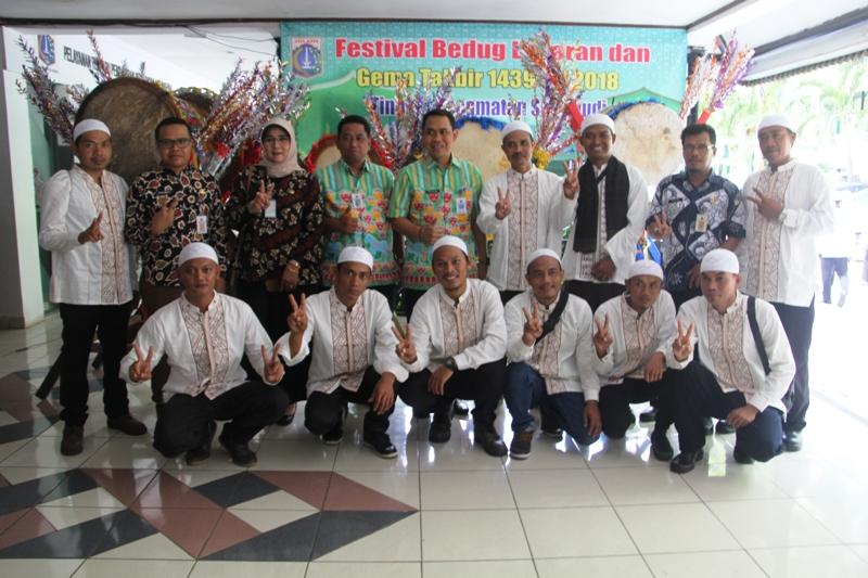 Delapan Tim Ikuti Festival Bedug Lebaran Gema Takbir Setiabudi Mina News