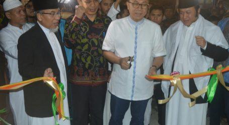 Ketua MPR Resmikan An-Nubuwwah, Masjid Terbesar di Lampung