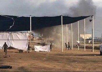 Pesawat Israel Lemparkan Gas Beracun ke Demonstran