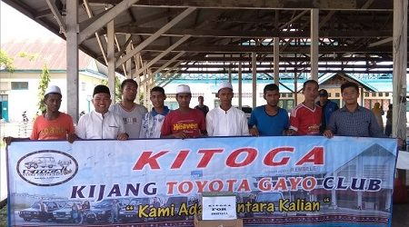 Kijang Toyota Gayo Club Bantu Etnis Rohingya