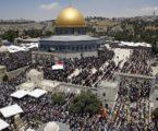 Ratusan Ribu Jamaah Hadiri Jumat Kedua Ramadhan di Al-Aqsha
