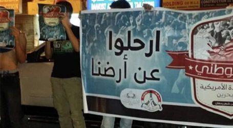 Ribuan Pengunjuk Rasa di Bahrain Tuntut Penutupan Pangkalan AL AS