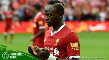 Sadio Mane Sujud Syukur di Final Liga Champions