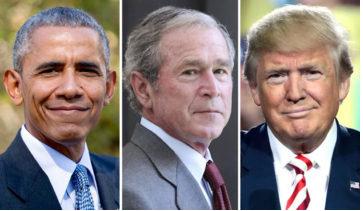 Pesan Ramadhan Antara Trump, Obama dan Bush