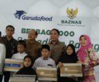 GarudaFood Salurkan 1.000 Paket Ramadhan Melalui BAZNAS