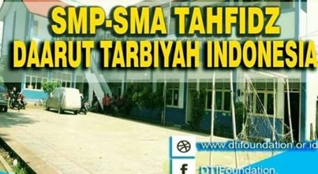 Ma'had DTI Berikan Beasiswa Tahfidz Yang Mendaftar Sepanjang Ramadhan