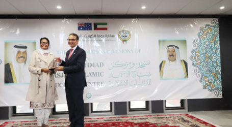 Kuwait Resmikan Masjid dan Pusat Islam di Canberra