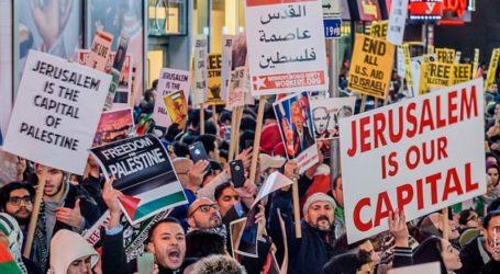 Ribuan Massa Palestina Siap Demo Peresmian Kedubes AS di Yerusalem