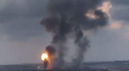 Tujuh Rudal Israel Serang Gaza Jelang Pembukaan Kedubes AS