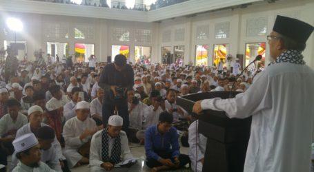 Imaam Yakhsyallah Mansur: Jadikan Ramadhan Bulan Persatuan Umat Islam