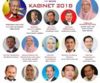 Mahathir Lantik Wakil PM dan 13 Menteri
