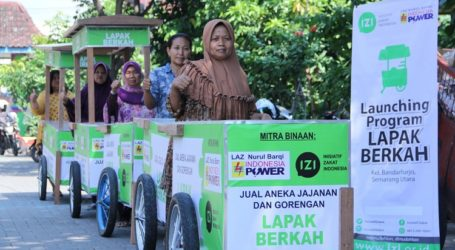 LAZ Nurul Barqi PT. Indonesia Power Salurkan Lapak Berkah untuk Warga Bandarharjo