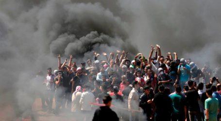 Aksi Protes Perbatasan Gaza, 60 Terbunuh