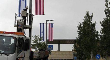 Israel Siapkan Acara Pembukaan Kedubes AS di Yerusalem Senin
