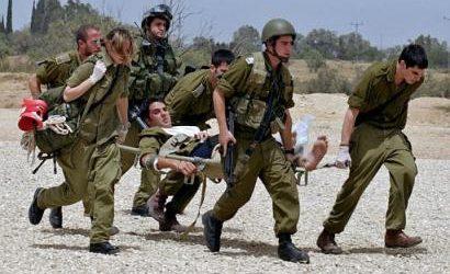 Enam Orang Israel Terluka Oleh Pecahan Roket