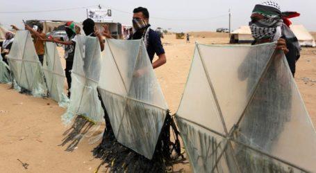 Israel Perintahkan Tentaranya Tembak Peluncur Layang-Layang