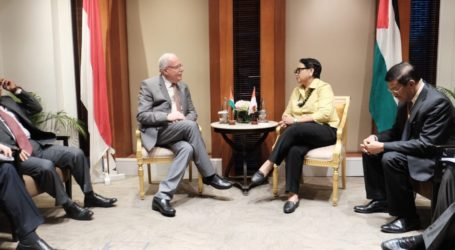Indonesia Bantu Palestina AS$ 2 Juta Untuk Capacity Building