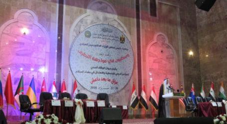 Di Konferensi Internasional,Ketua Dewan Sunni Sampaikan Pesan Kebangkitan Irak