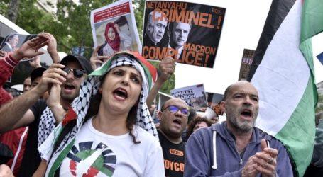Protes Pro-Palestina Mengikuti PM Netanyahu Selama Tur Eropa