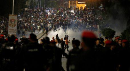 Warga Yordania Adakan Demonstrasi Terbesar Dalam Beberapa Tahun Terakhir