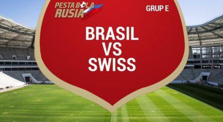 Brasil Berbagi Angka dengan Swiss di Piala Dunia 2018