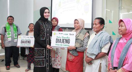 Komunitas Arisan Diajeng Gandeng IZI Bantu Kuli Gendong Pasar