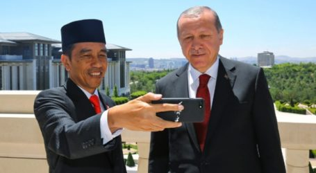 Presiden Jokowi Ucapkan Selamat Pada Erdogan