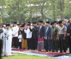 Solat Id di Kebun Raya Bogor, Presiden Jokowi: Semoga Kita Makin Pererat Persatuan dan Kesatuan