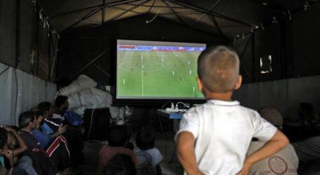 Piala Dunia Hibur Pengungsi Suriah